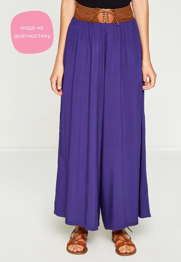 Женские широкие и расклешенные брюки Koton 7YAL46627IW
