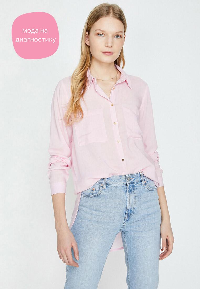Женские рубашки с длинным рукавом Koton 7YAK63223EW