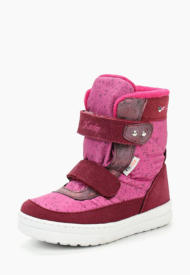 Ботинки для девочек Котофей 454972-42