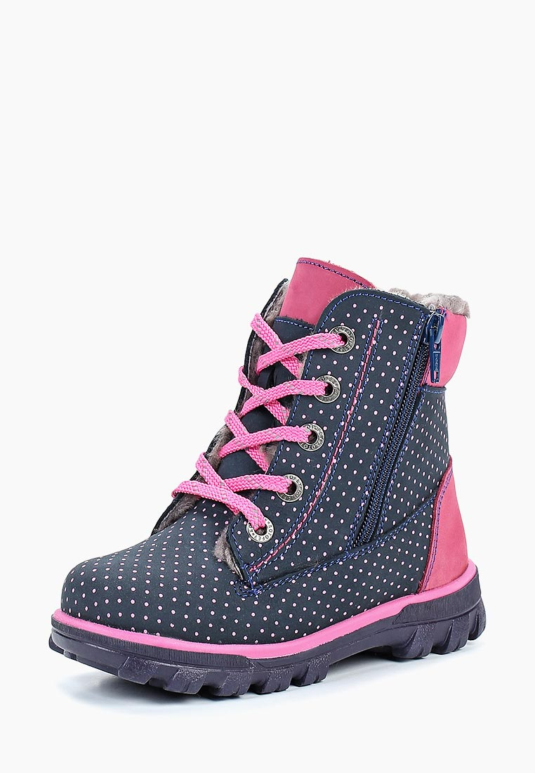 Ботинки для девочек Котофей 352124-51
