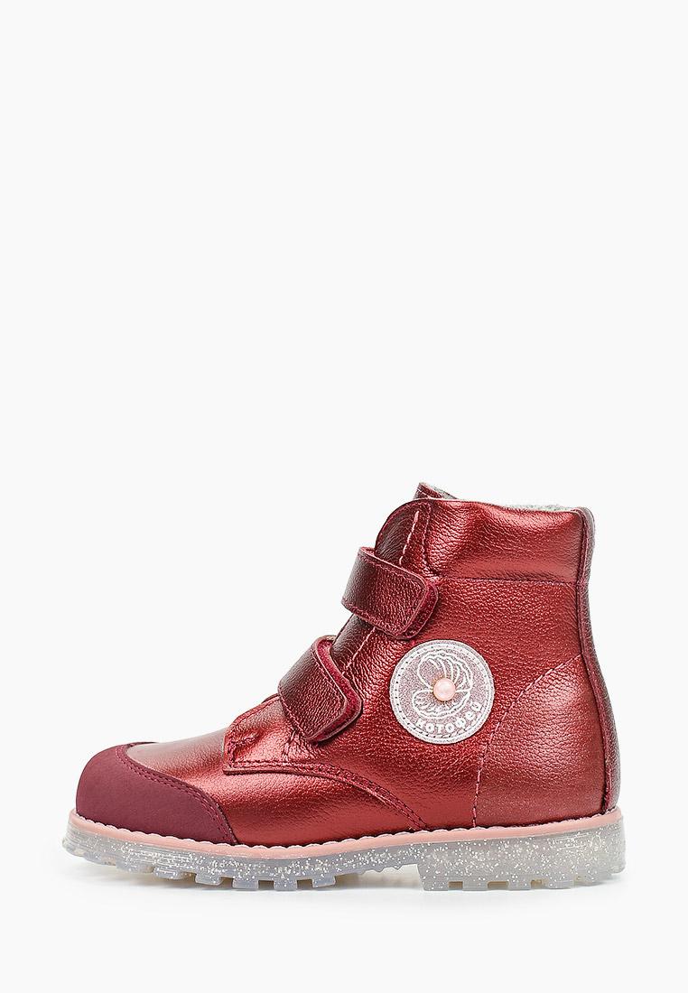 Ботинки для девочек Котофей 352289-31