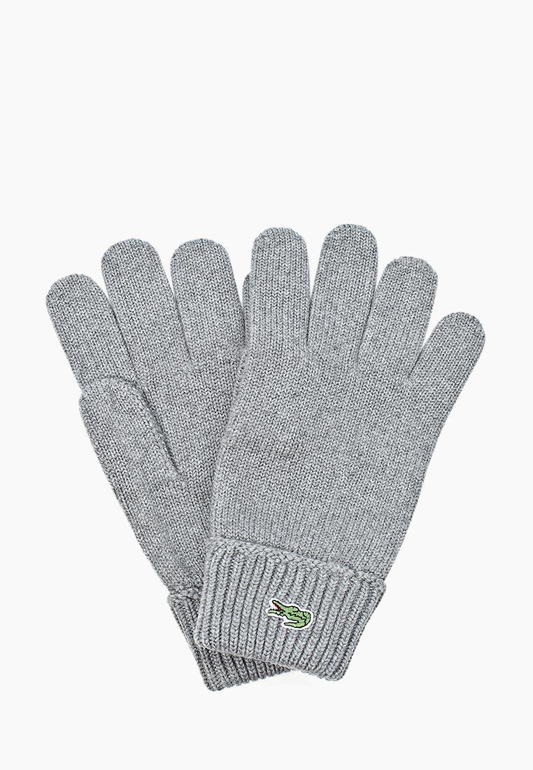 Мужские перчатки Lacoste (Лакост) RV4214UWC