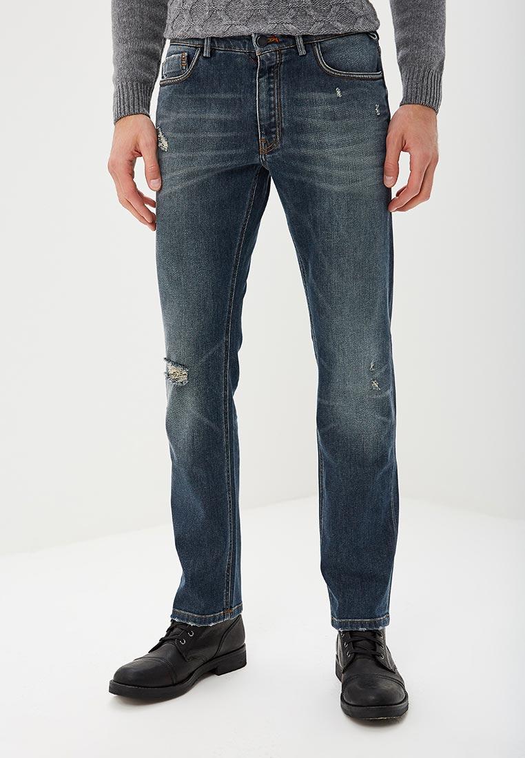 Мужские прямые джинсы Lab. Pal Zileri NP1DH277-42569