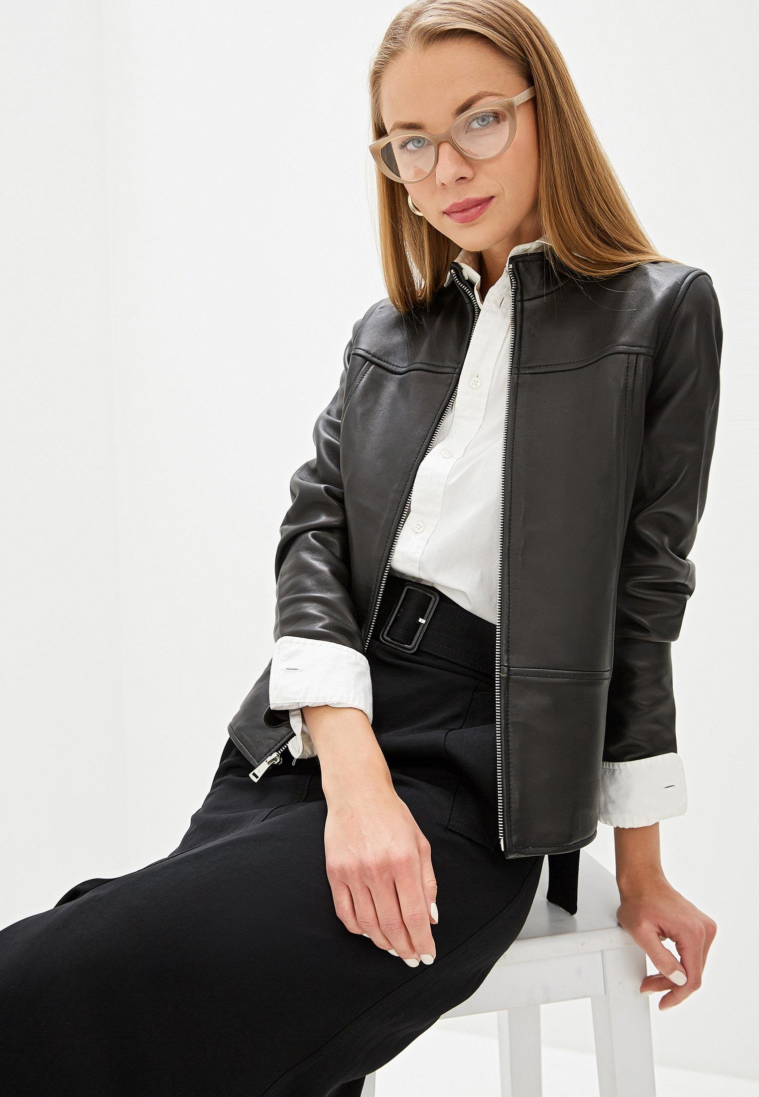 Кожаная куртка Lauren Ralph Lauren 297767191001