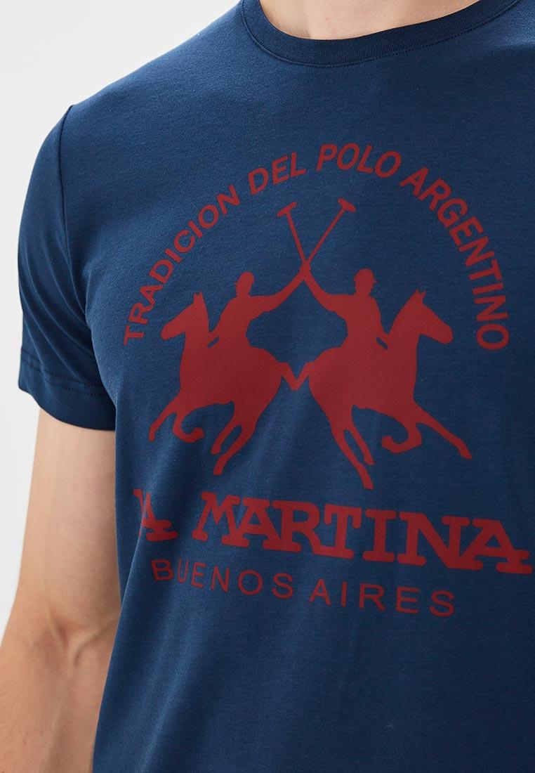 Футболка La Martina mmr006: изображение 4