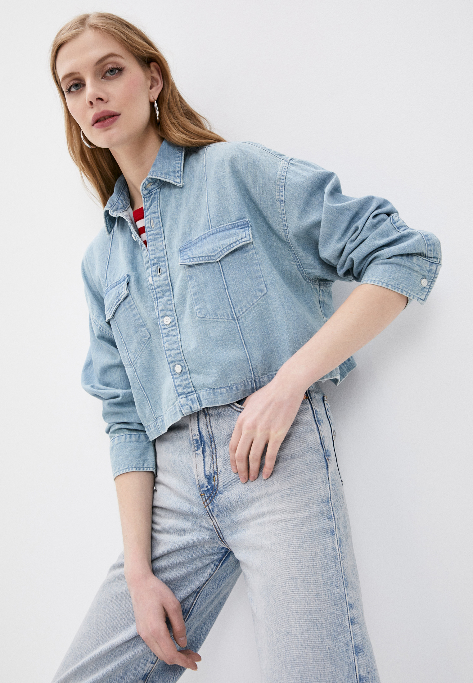 Женские джинсовые рубашки Levi's® Made & Crafted™ 1771800020