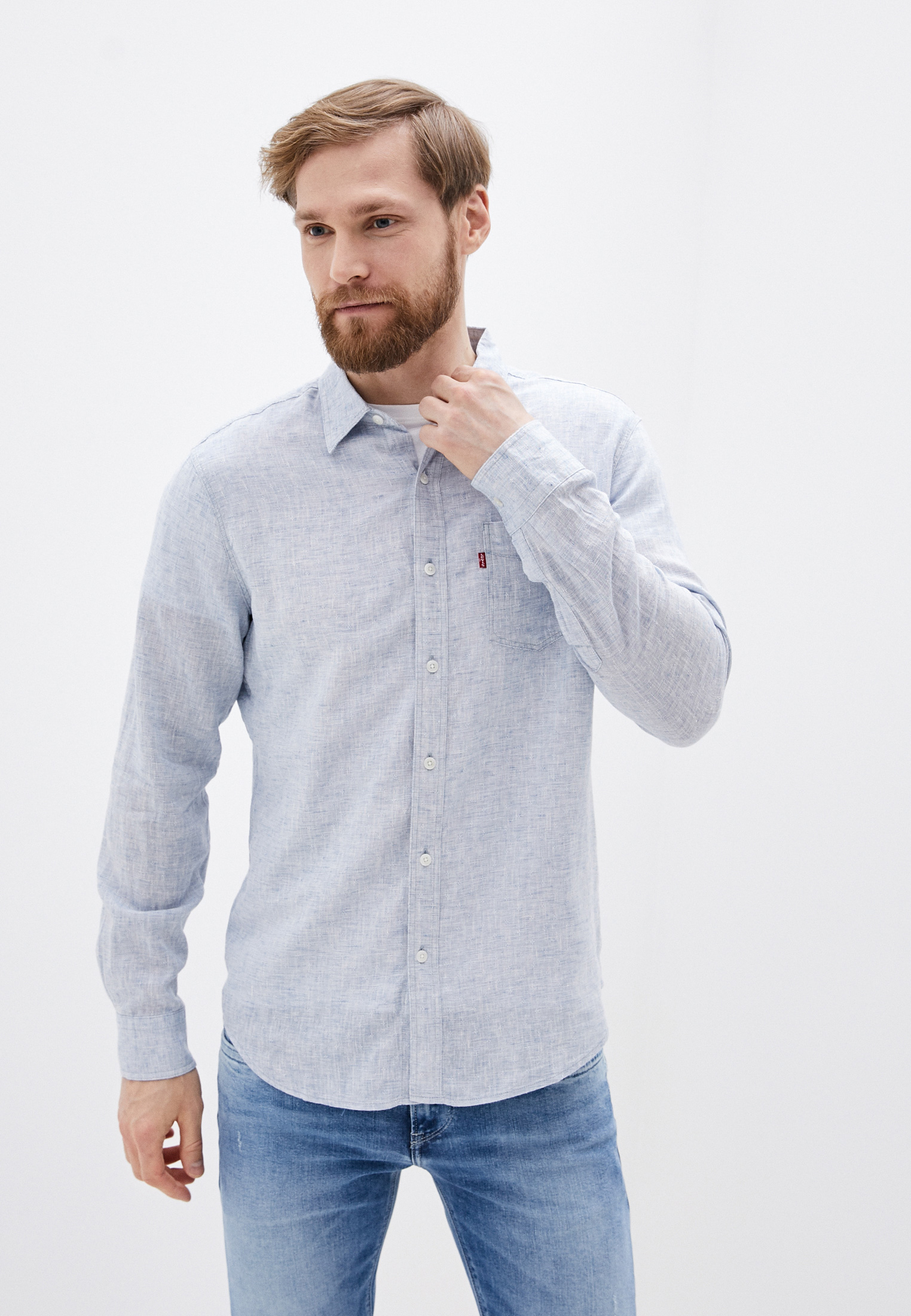 Рубашка с длинным рукавом Levi's® 8574600100
