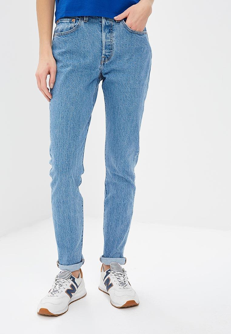 53ca1cd6c6a Зауженные джинсы женские Levi s® 2950200770 цвет голубой купить за ...
