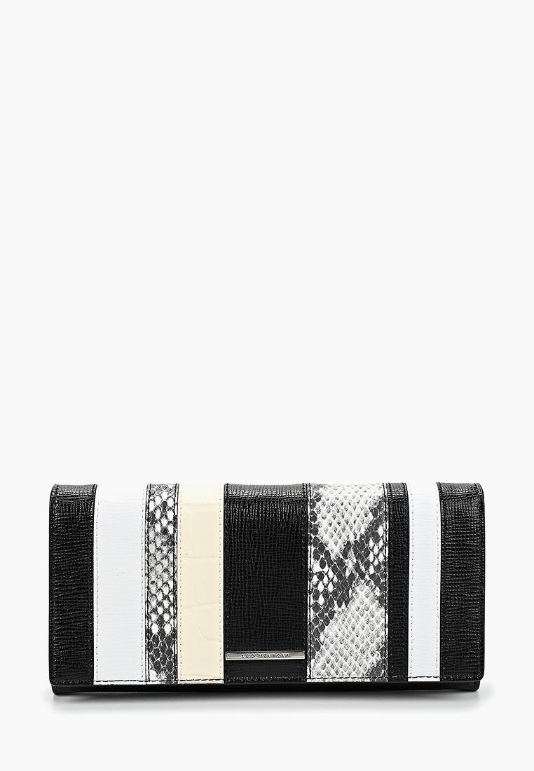 Кошелек Leo Ventoni L330985-nero/bianco