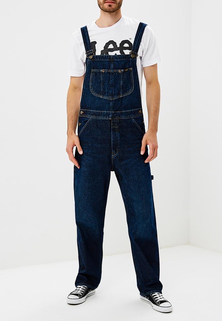 Мужские прямые джинсы Lee (Ли) L72ZRDJL