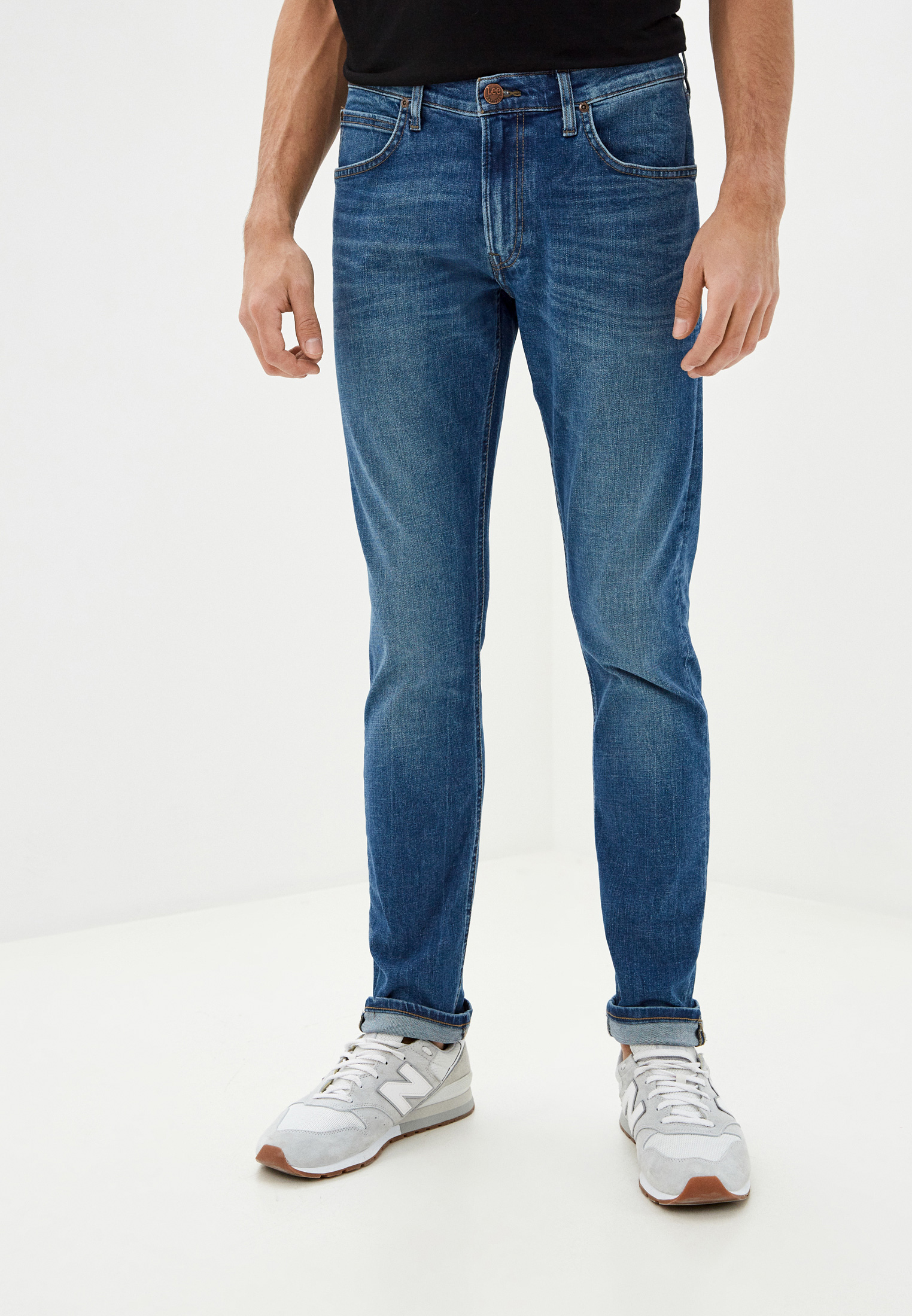 Зауженные джинсы Lee (Ли) L719ROIG: изображение 1