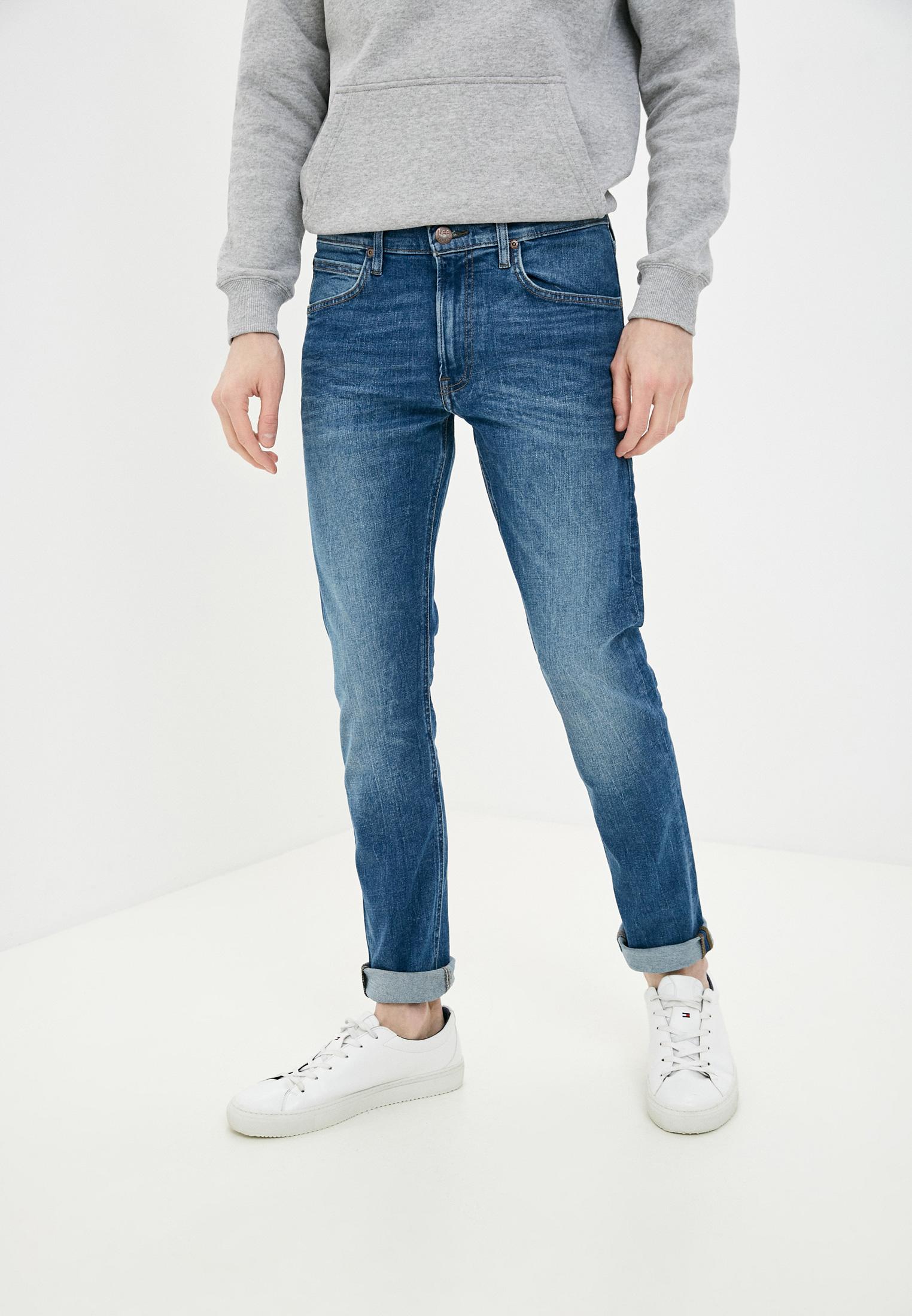Зауженные джинсы Lee (Ли) L719ROIG: изображение 5