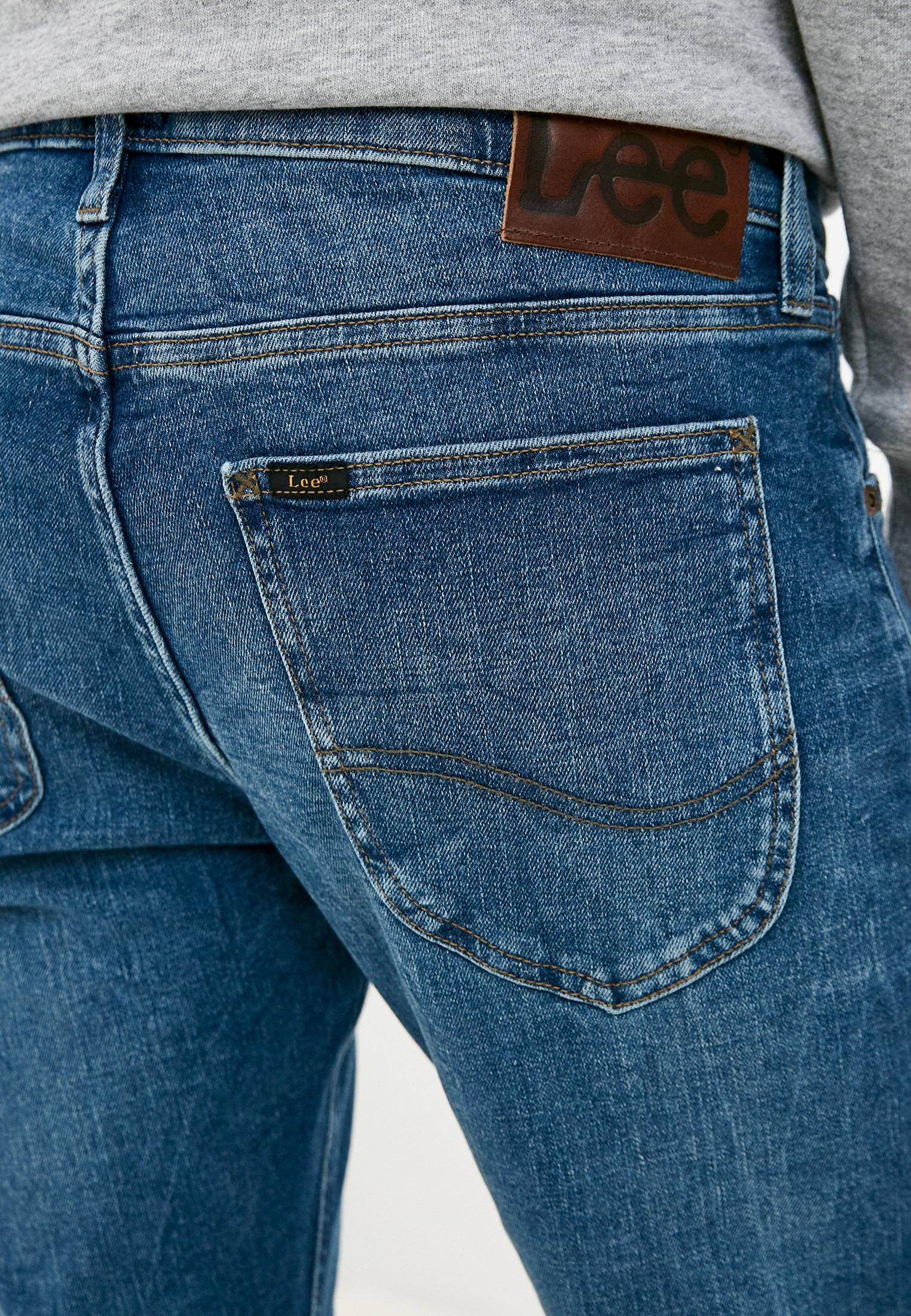Зауженные джинсы Lee (Ли) L719ROIG: изображение 8