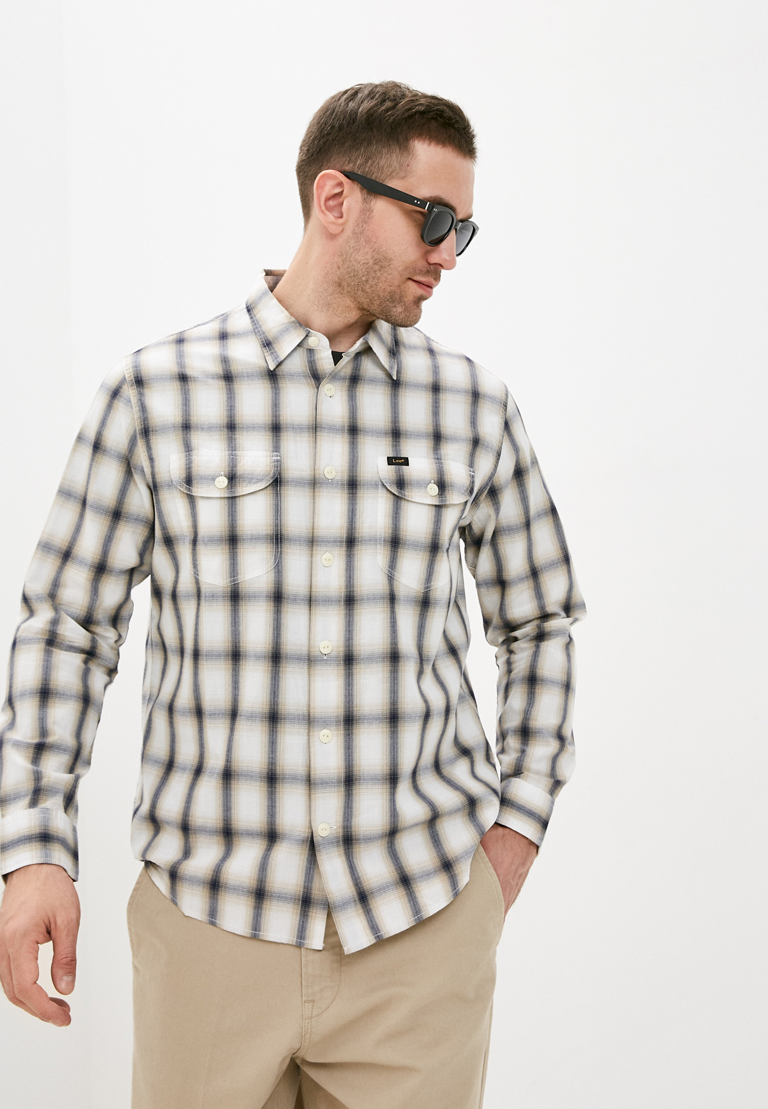 Рубашка с длинным рукавом Lee (Ли) Рубашка Lee