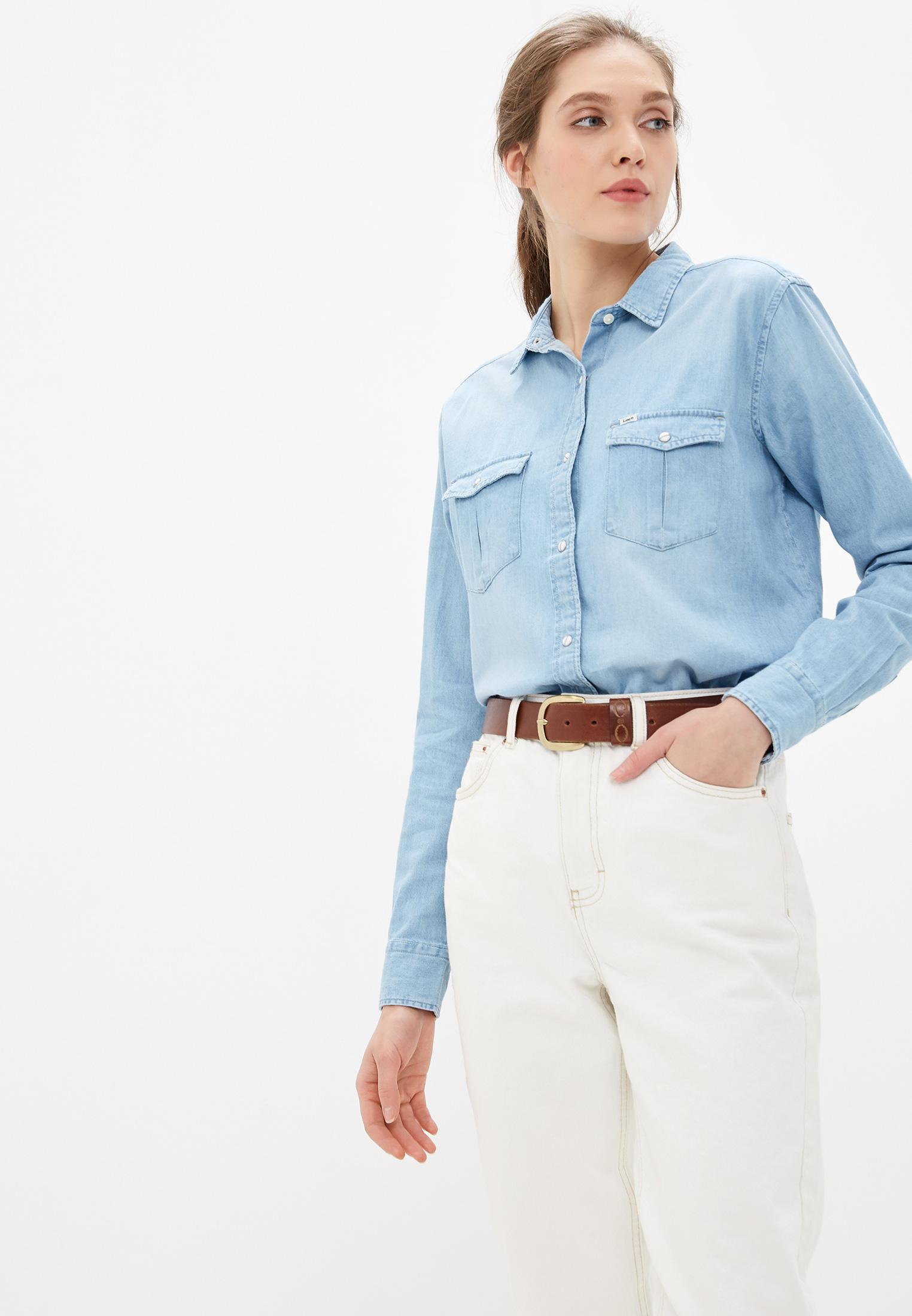 Женские джинсовые рубашки Lee L46CBILI