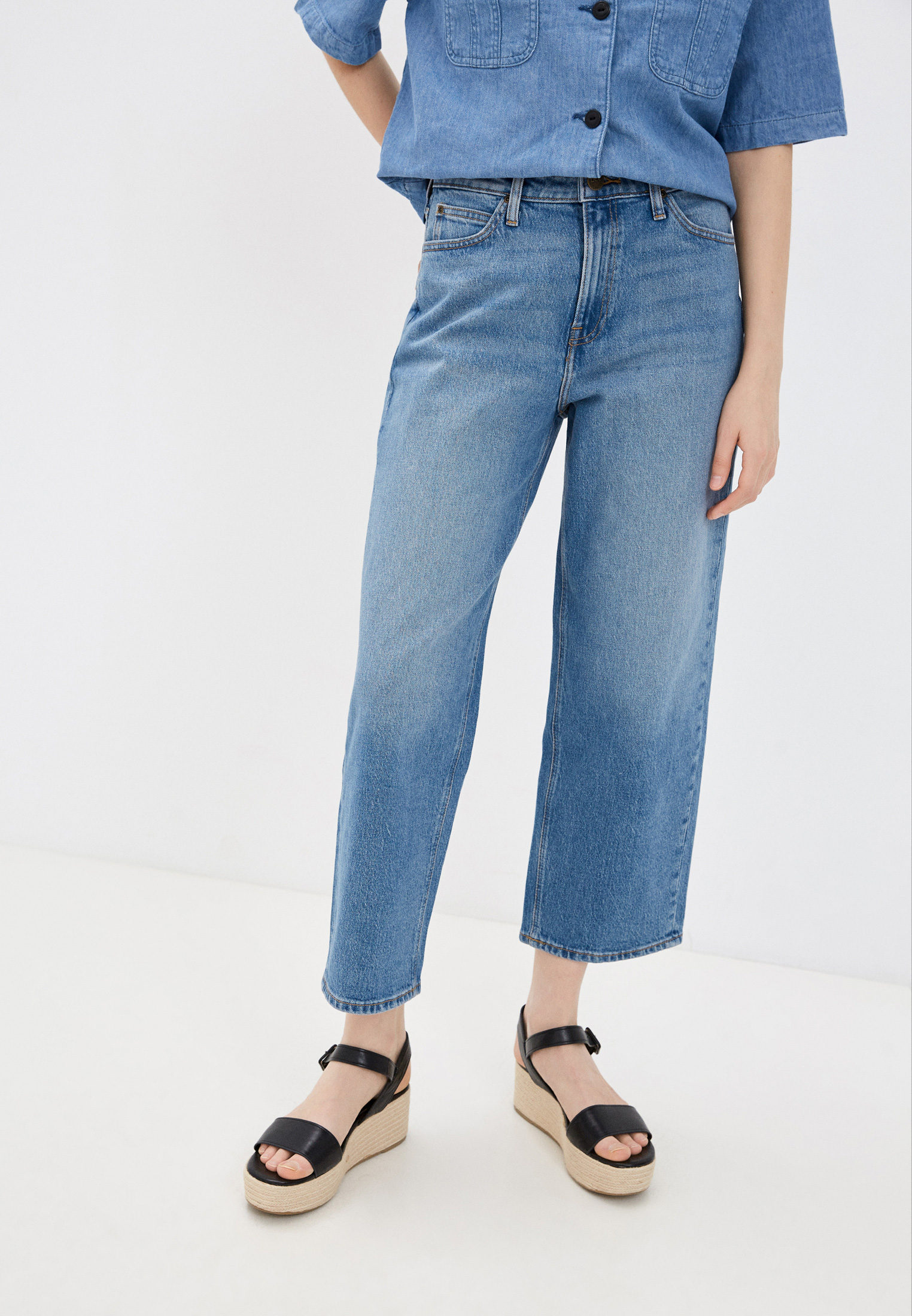 Широкие и расклешенные джинсы Lee (Ли) L30SMWKP