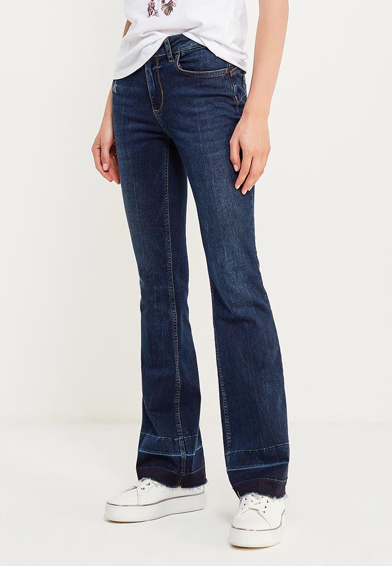 Широкие и расклешенные джинсы Liu Jo (Лиу Джо) U67019 D4109