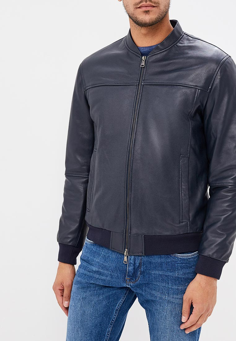Кожаная куртка Liu Jo Uomo M218P107DRIVERINK