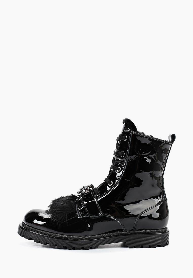 Ботинки для девочек Liu Jo Junior L4A5-20127-0449999-NERO
