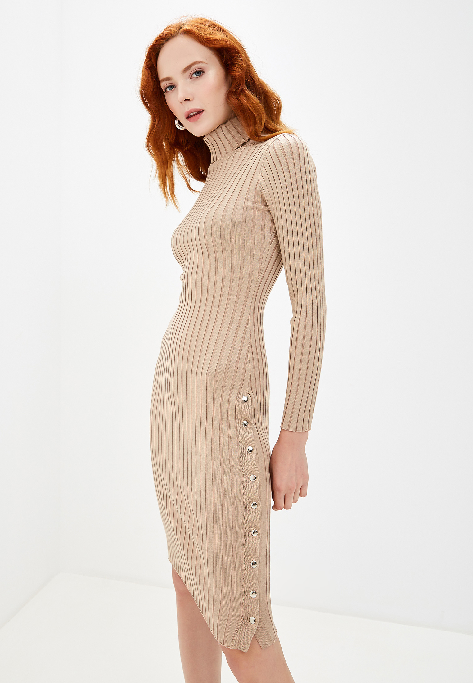 Вязаное платье Liana L01755