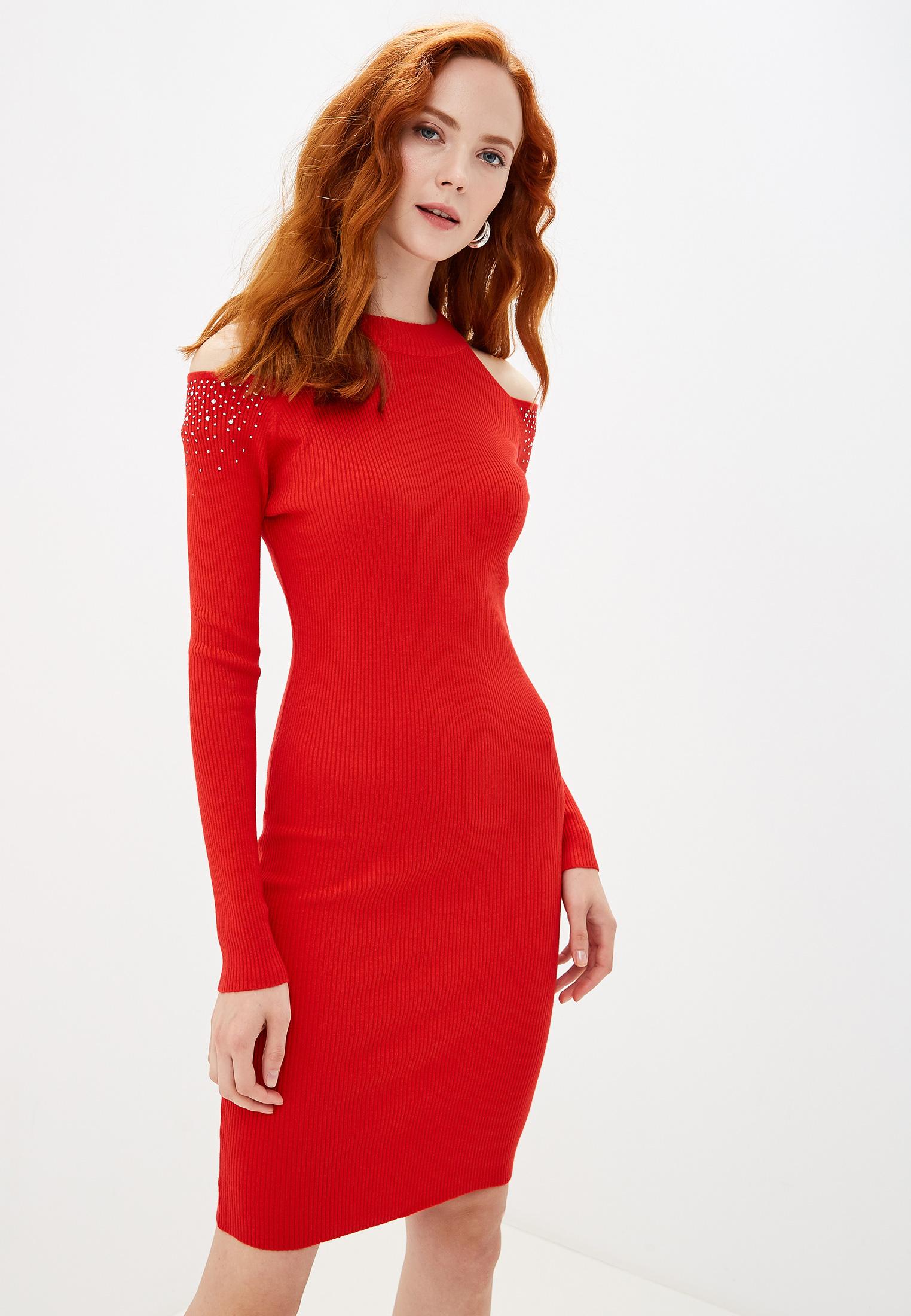 Вязаное платье Liana L1019