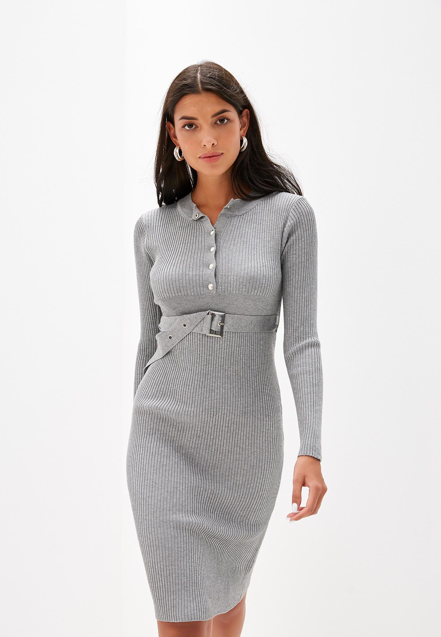 Вязаное платье Liana L407
