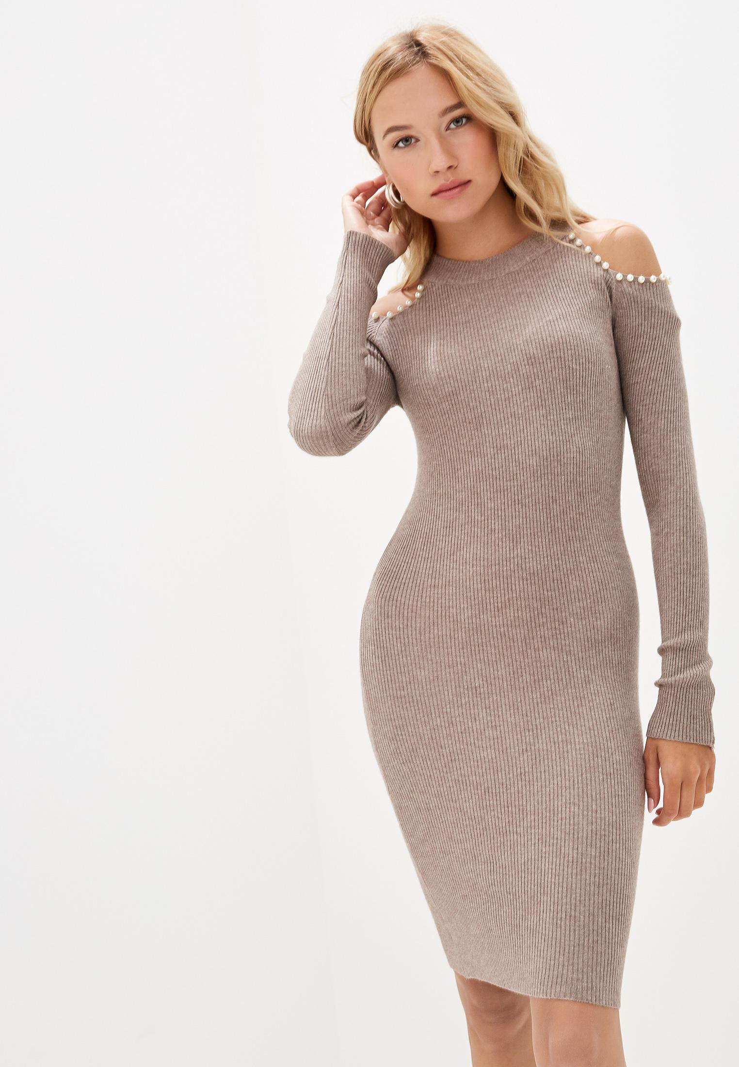 Вязаное платье Liana L607