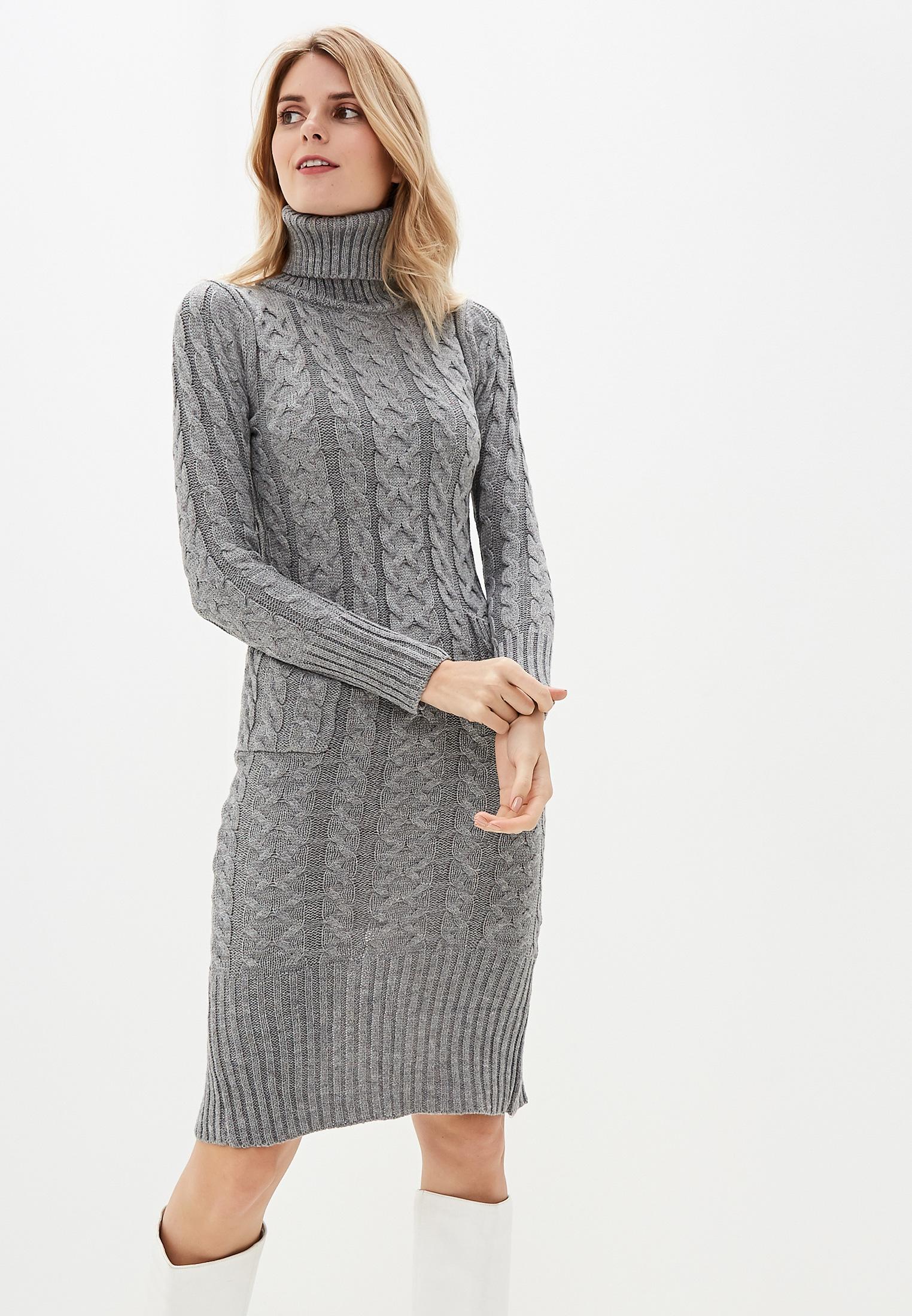 Вязаное платье Liana L6202
