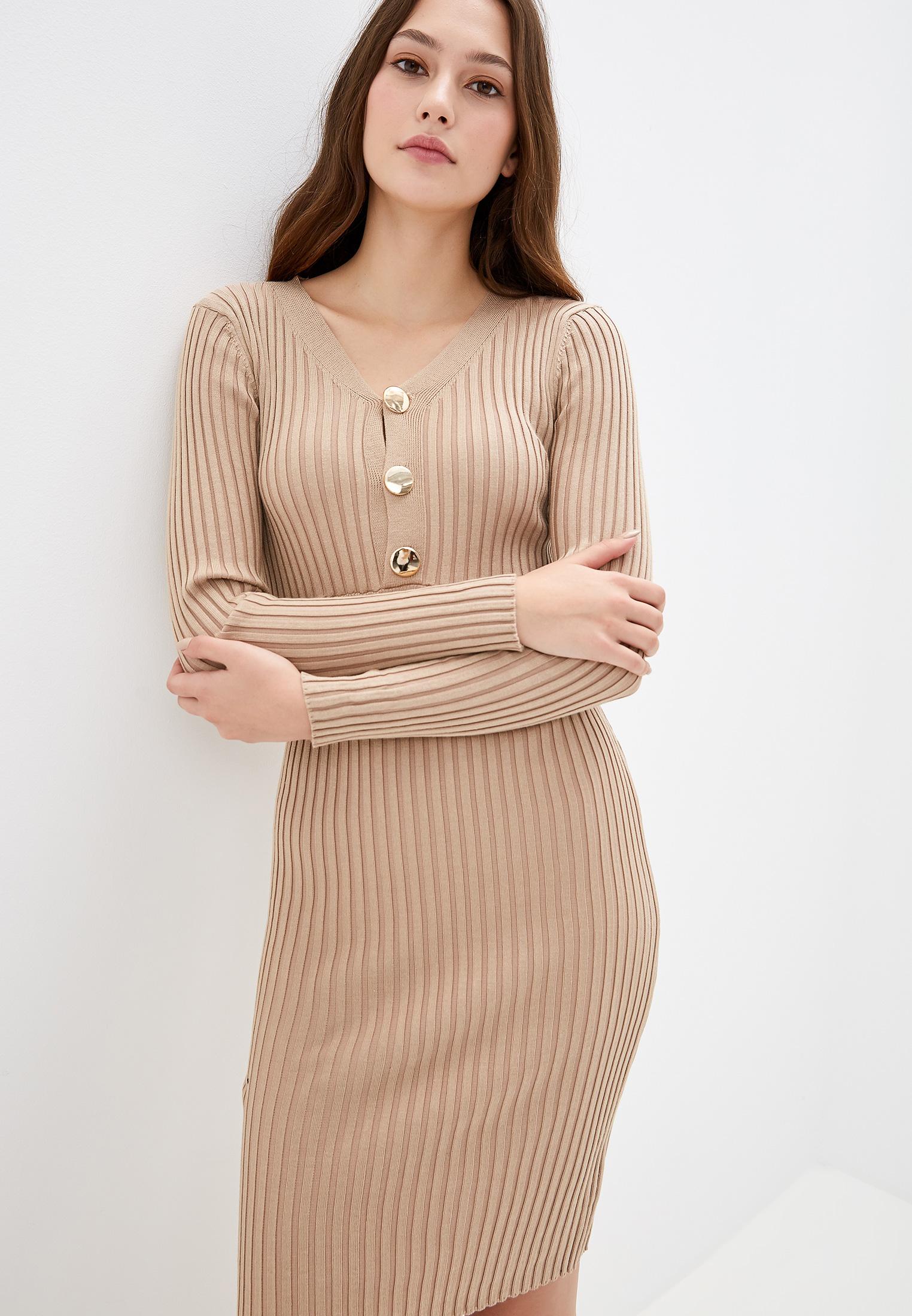 Вязаное платье Liana L936