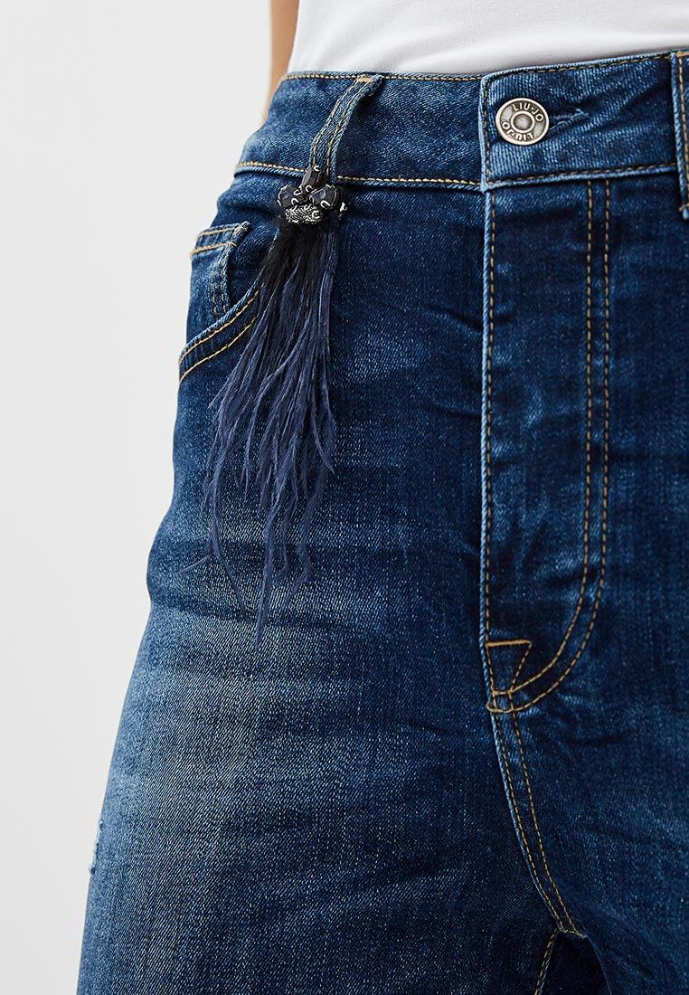 Зауженные джинсы Liu Jo (Лиу Джо) U68035 D4270: изображение 4