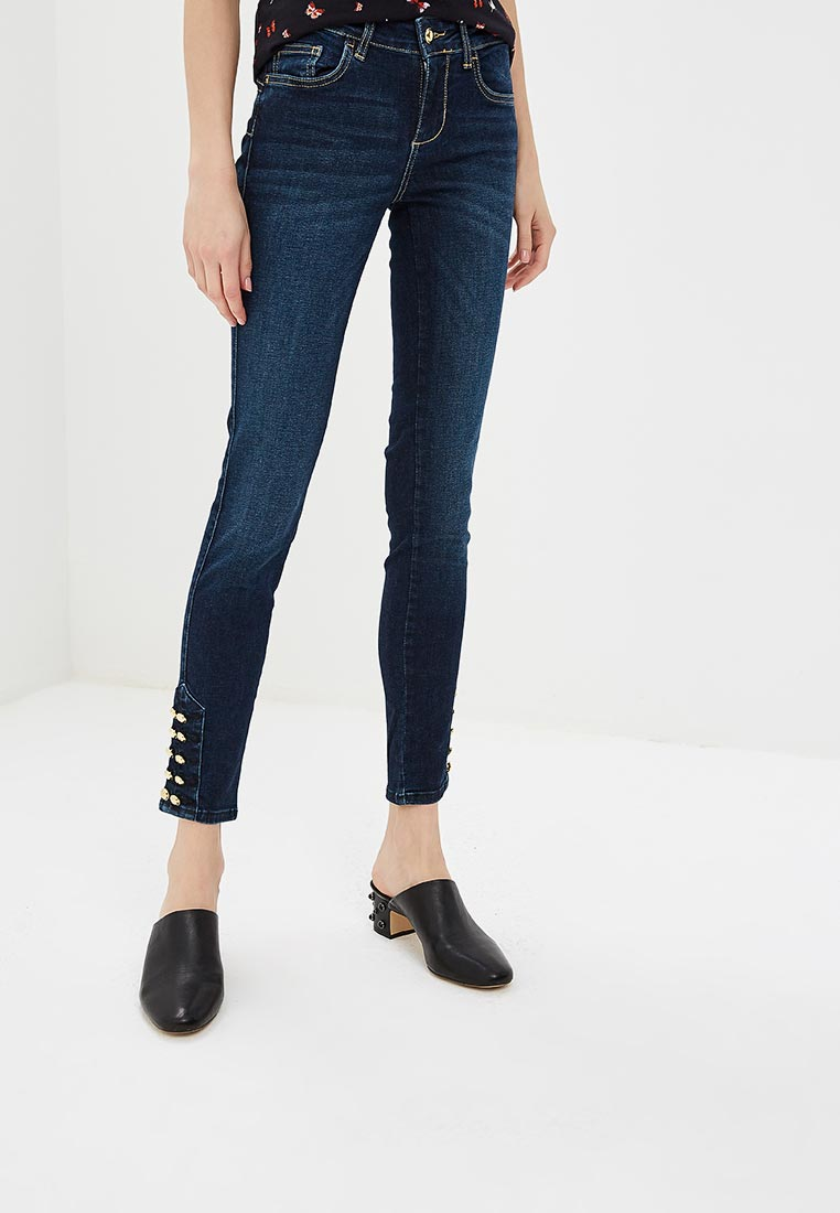 Зауженные джинсы Liu Jo (Лиу Джо) U68059 D4268