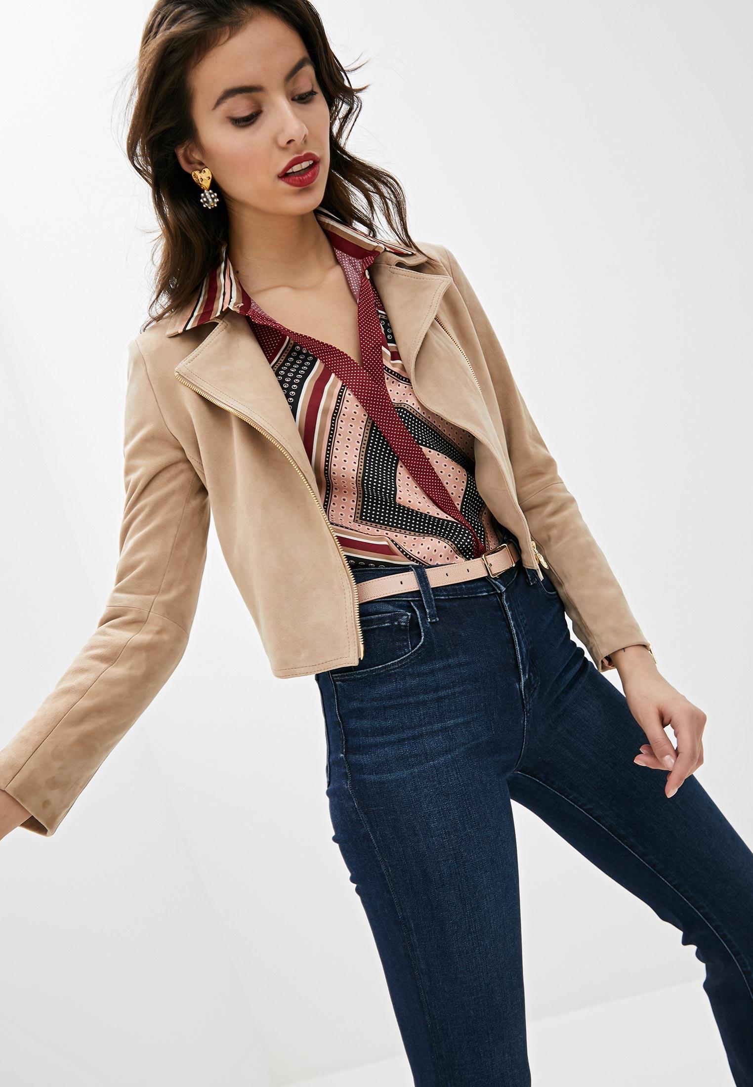 Кожаная куртка Liu Jo (Лиу Джо) PA0042