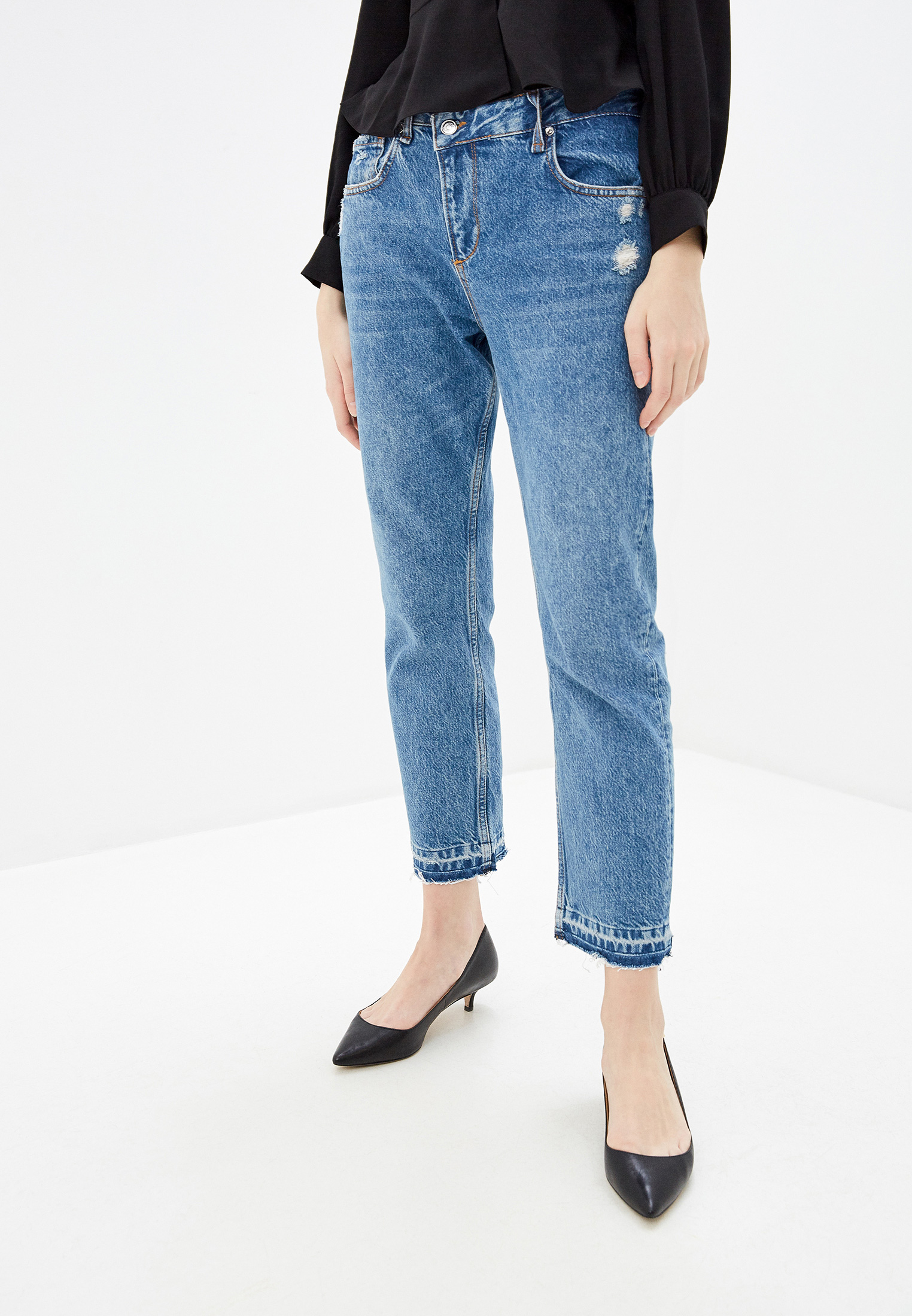 Прямые джинсы Liu Jo (Лиу Джо) UA0132