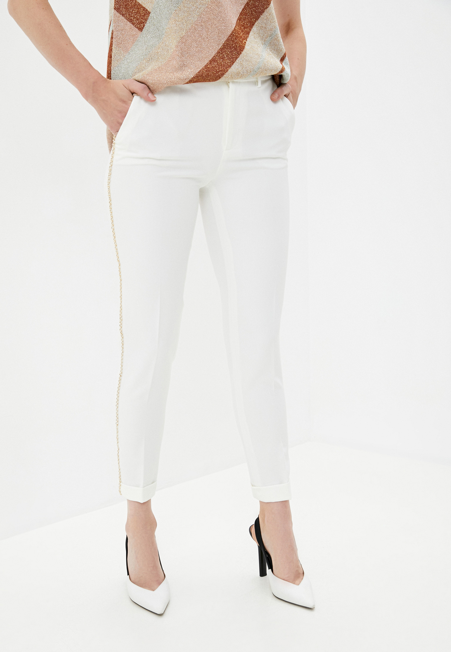 Женские классические брюки Liu Jo (Лиу Джо) W19349T789610701