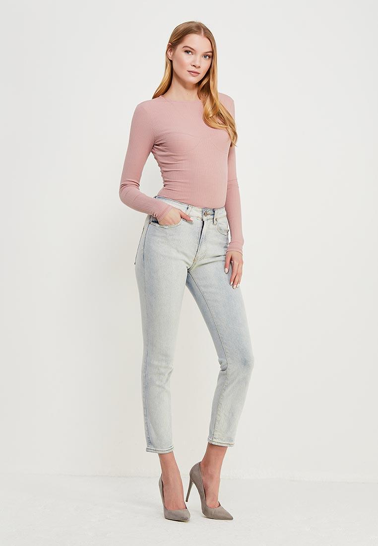 Зауженные джинсы LOST INK. (ЛОСТ ИНК.) 1001114040490028: изображение 2