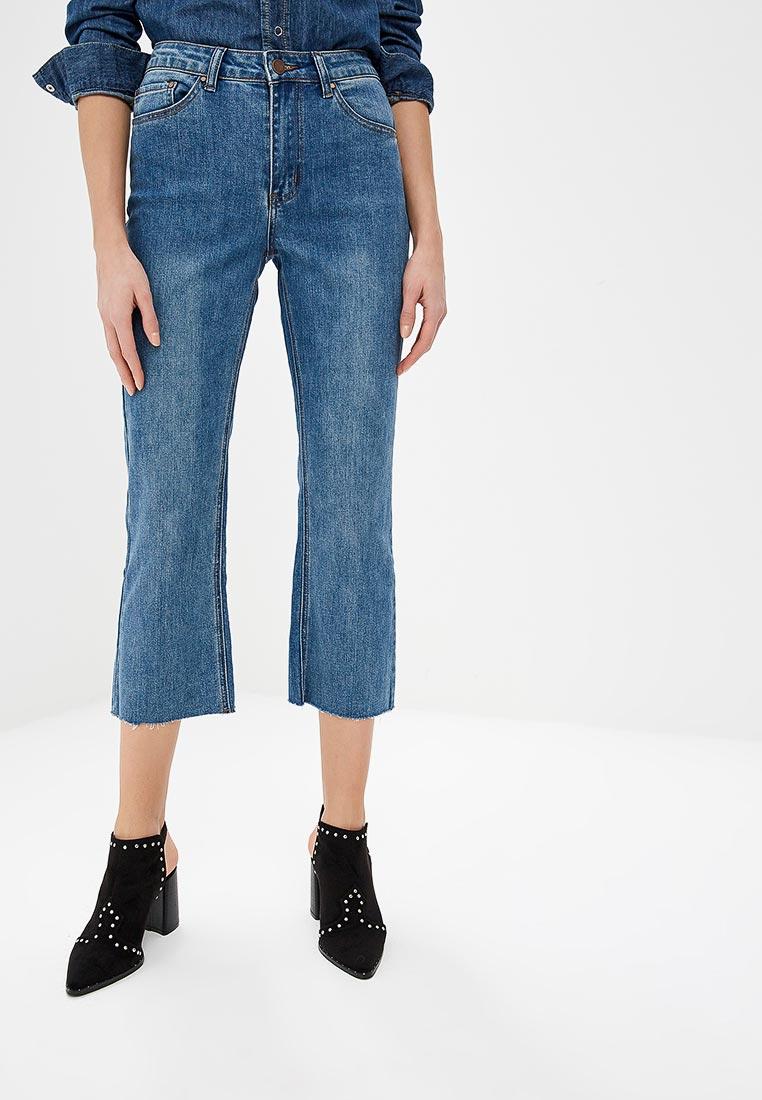 Прямые джинсы LOST INK. (ЛОСТ ИНК.) 1201114040070025