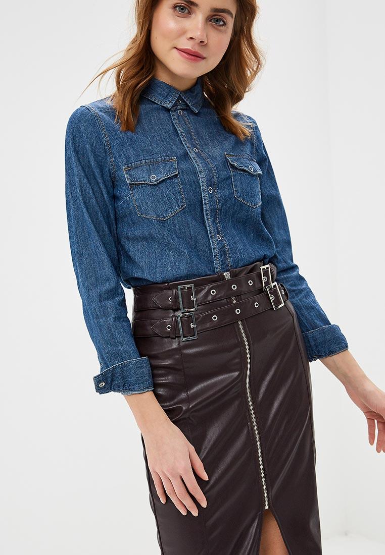 Женские рубашки с длинным рукавом LOST INK. (ЛОСТ ИНК.) 1201121070300025