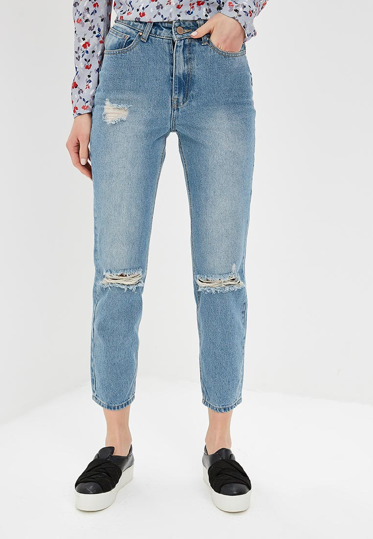 Прямые джинсы LOST INK. (ЛОСТ ИНК.) 1201114040290024