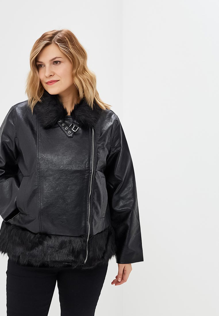 Кожаная куртка Lost Ink Plus 1103120060380001
