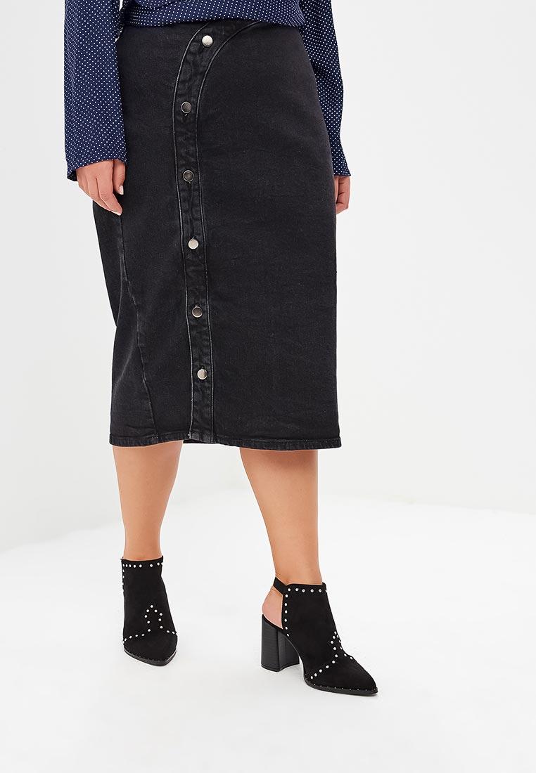 Прямая юбка Lost Ink Plus 1103112090160003
