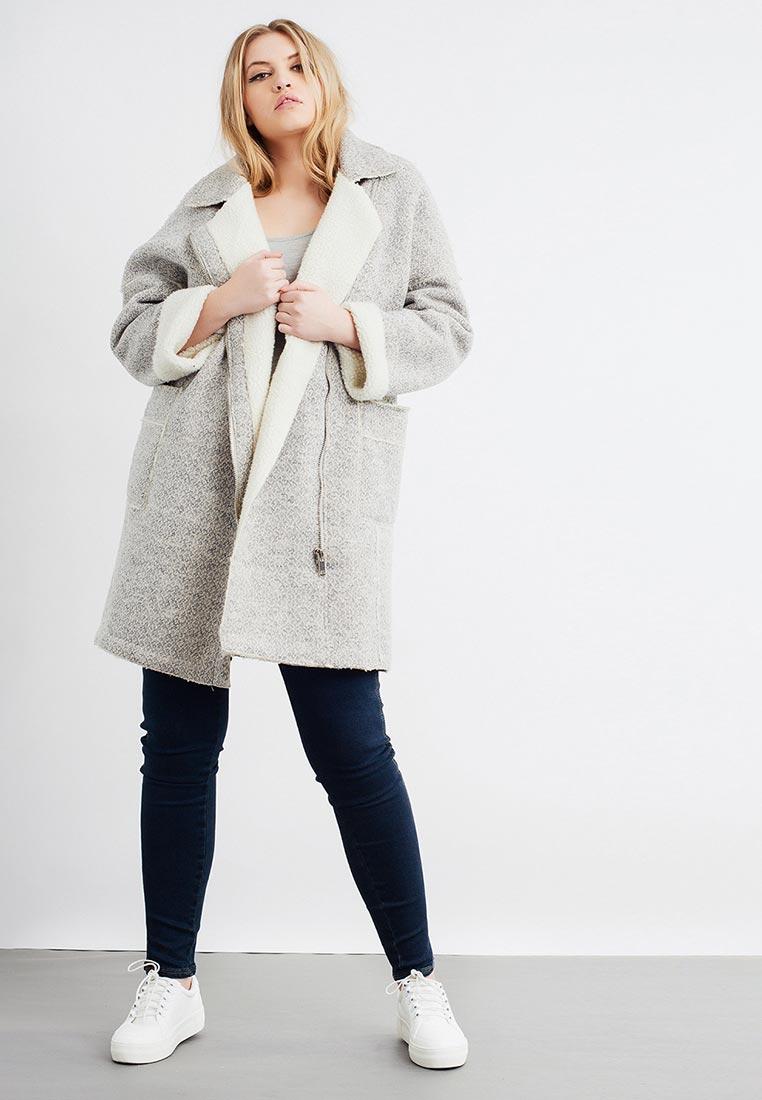 Пальто LONGLINE BIKER COAT | LaModa