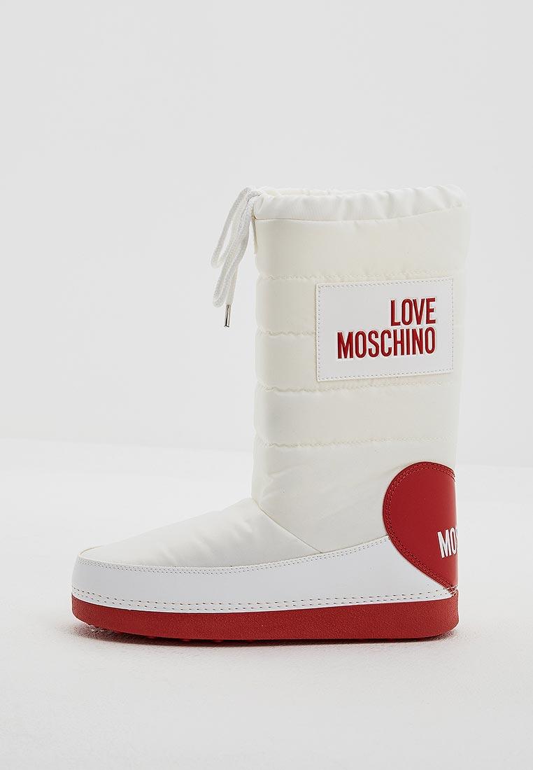 Женские дутики Love Moschino (Лав Москино) JA24022G16IK2