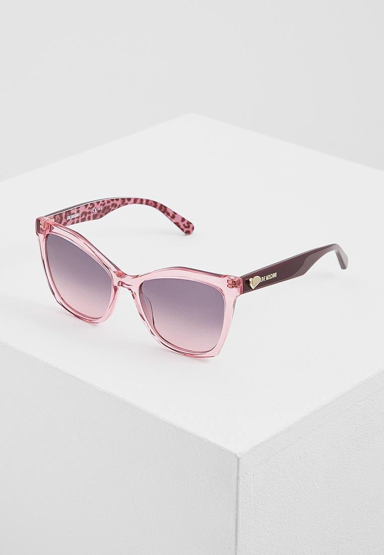 Женские солнцезащитные очки Love Moschino MOL002/S
