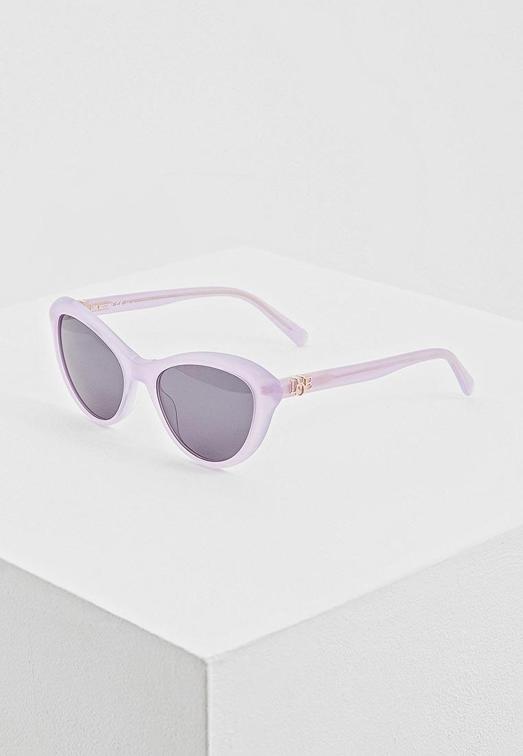 Женские солнцезащитные очки Love Moschino MOL015/S