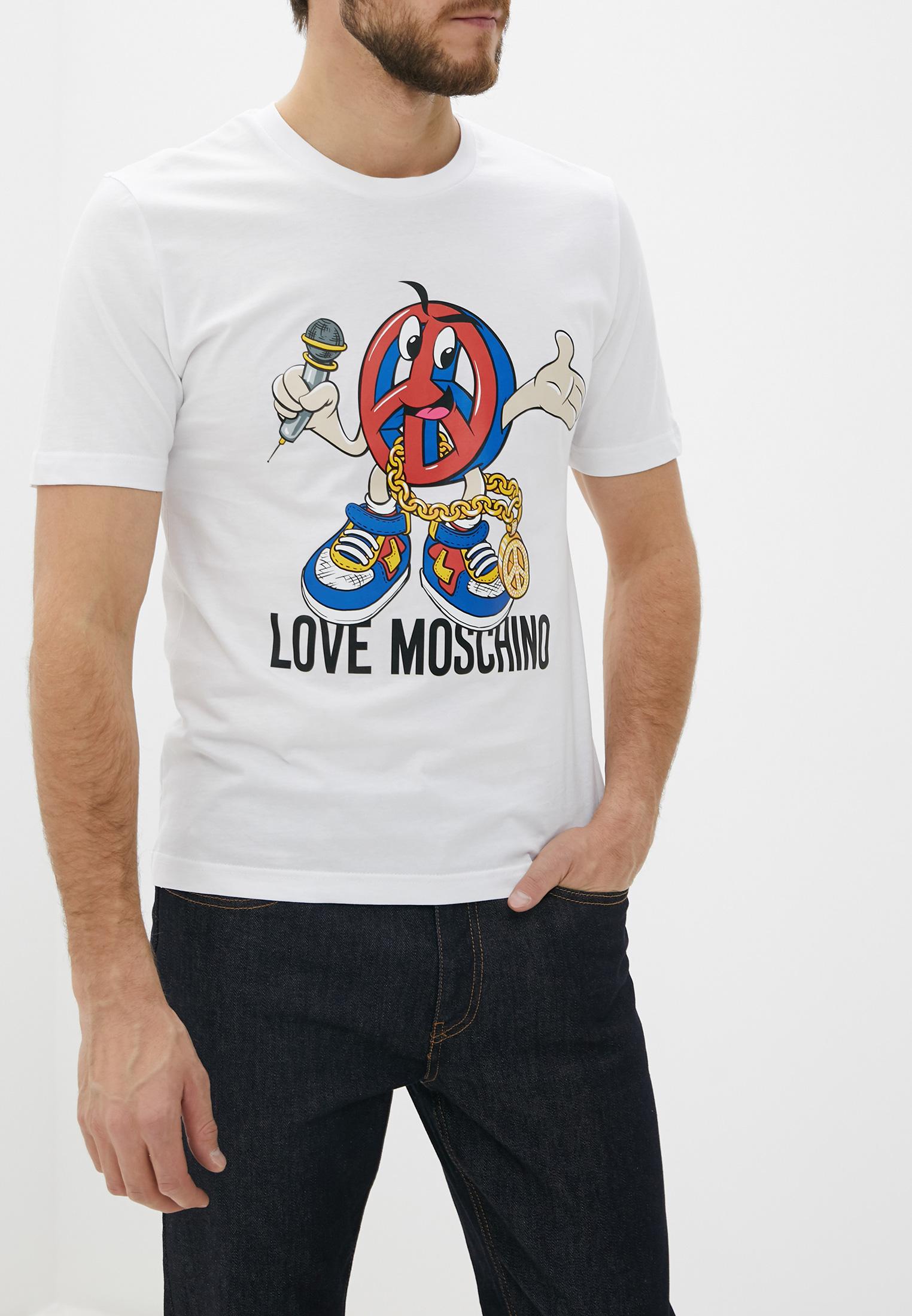 Футболка Love Moschino M 4 732 4B M 3876