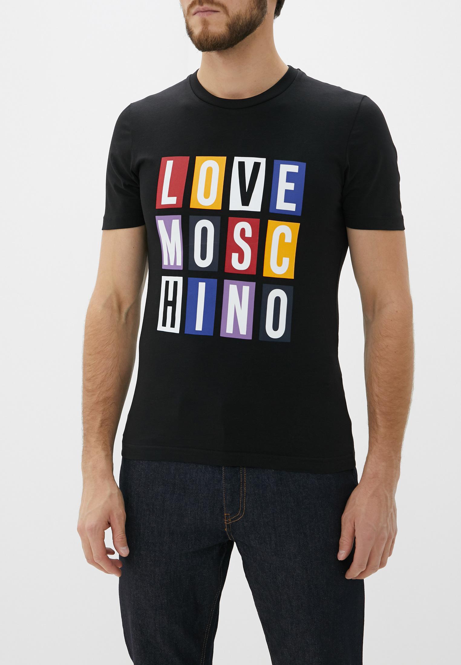 Футболка Love Moschino M 4 731 2Y E 1811