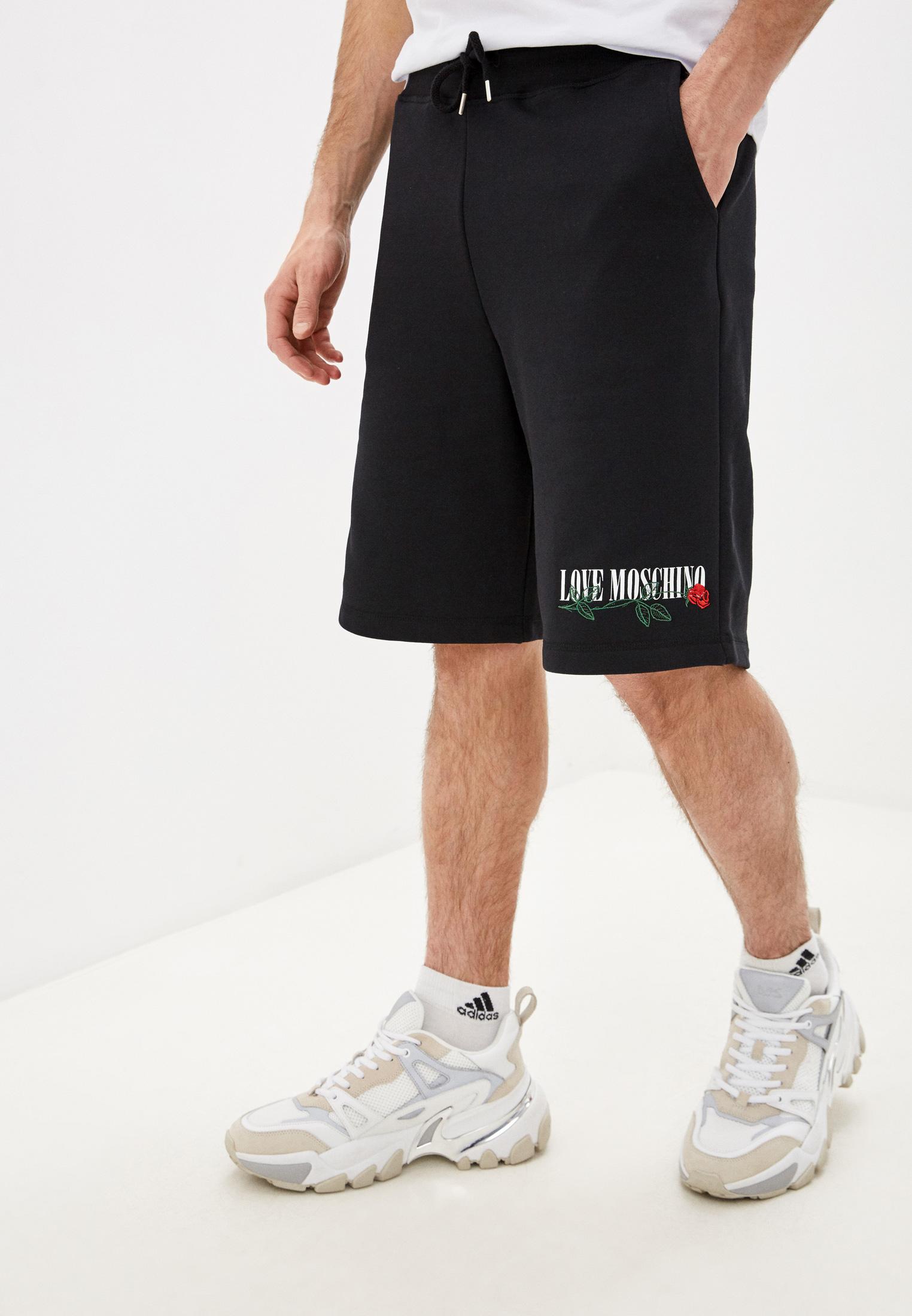 Мужские спортивные шорты Love Moschino (Лав Москино) M109508M3875C74