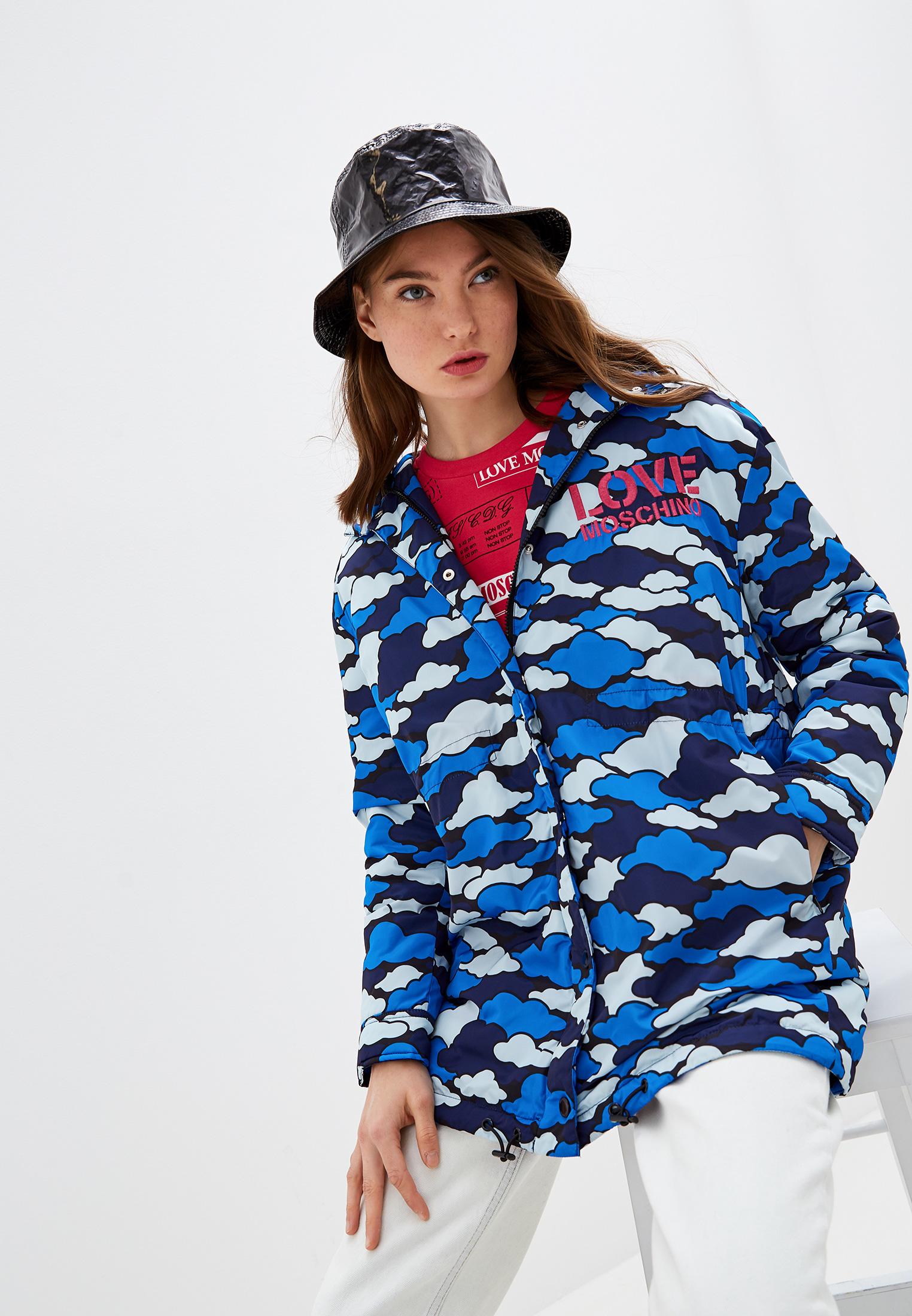 Утепленная куртка Love Moschino W J 183 01 T 9797