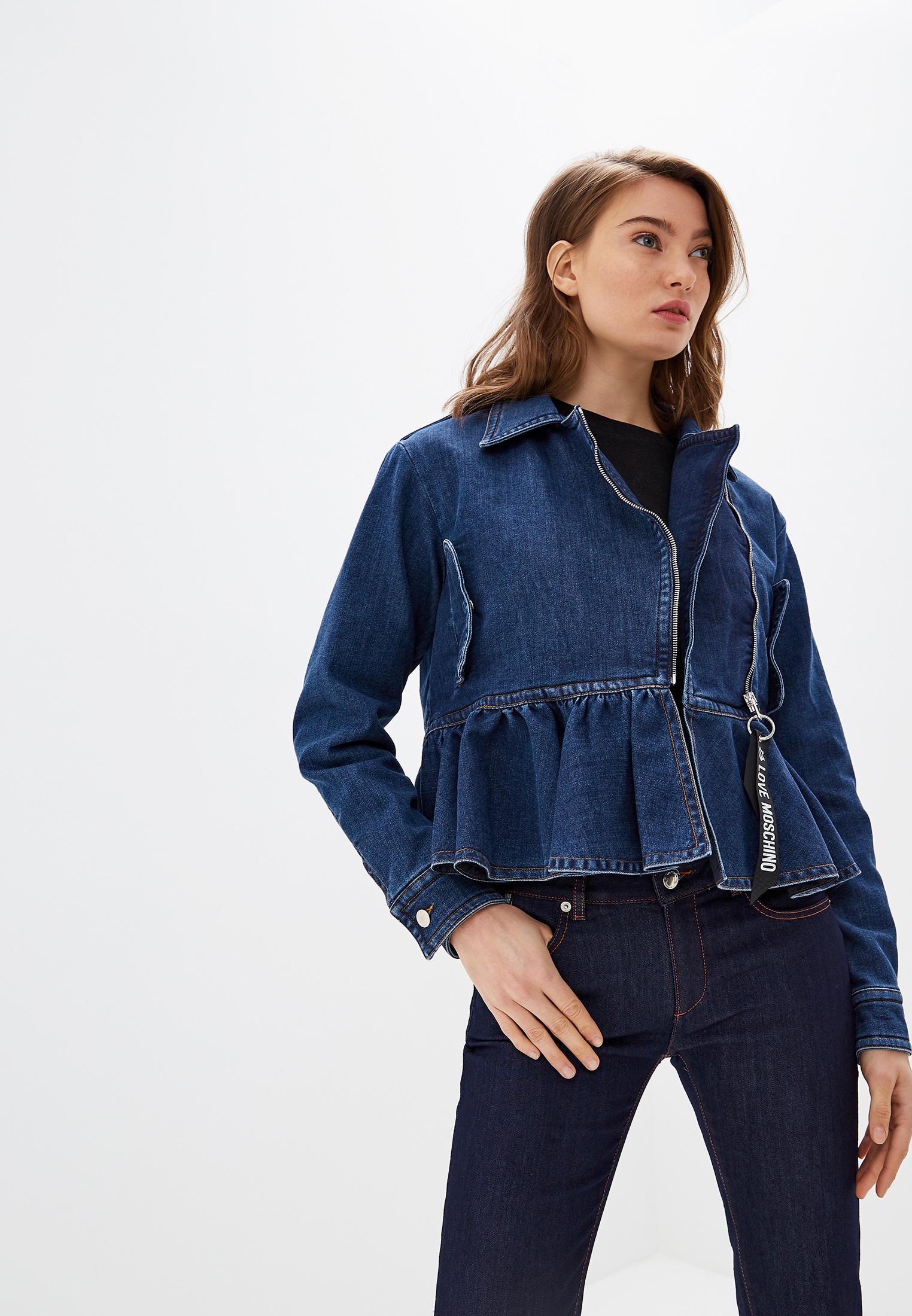 Джинсовая куртка Love Moschino W H 699 00 S 3299