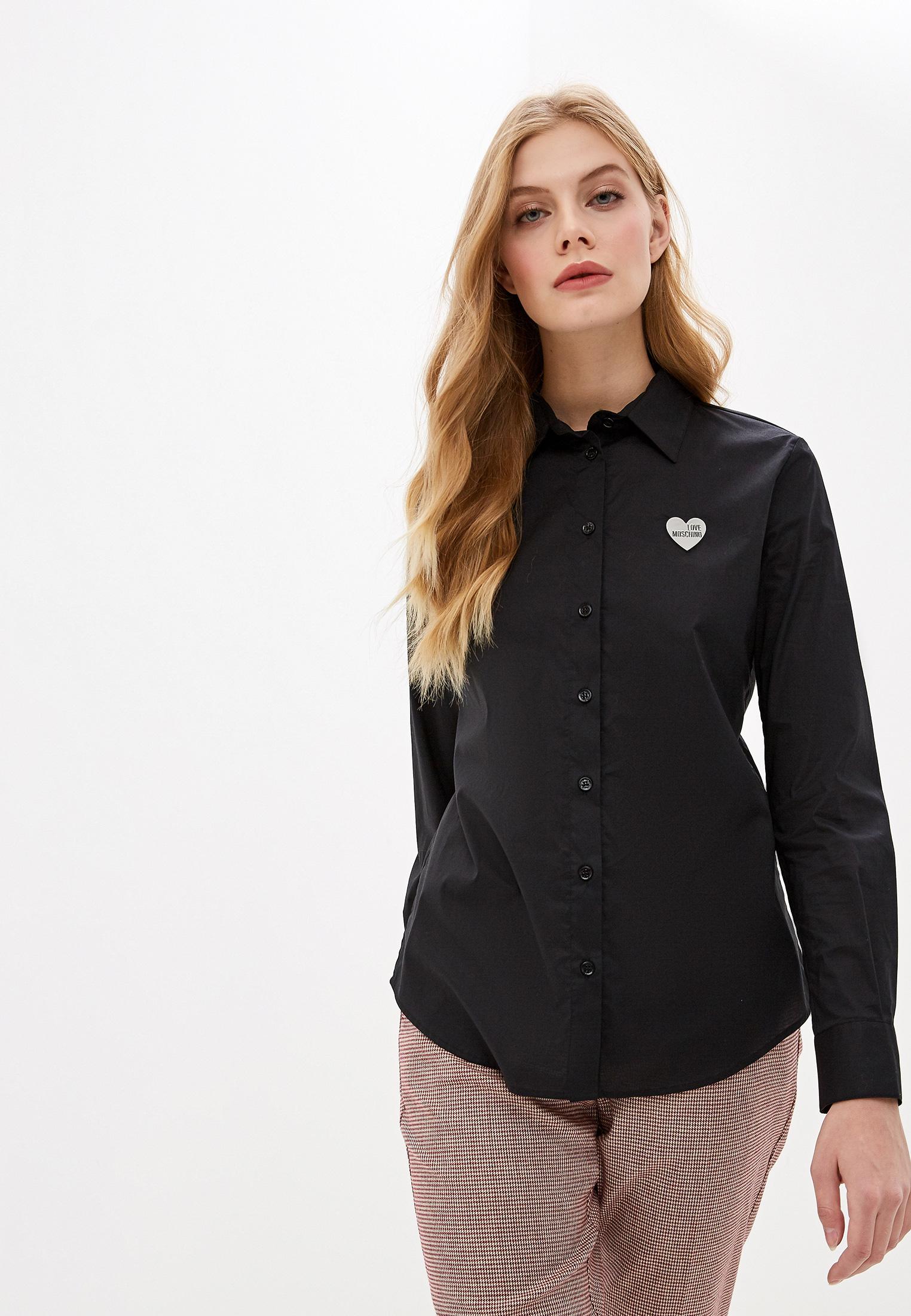 Женские рубашки с длинным рукавом Love Moschino W C C34 81 S 3296